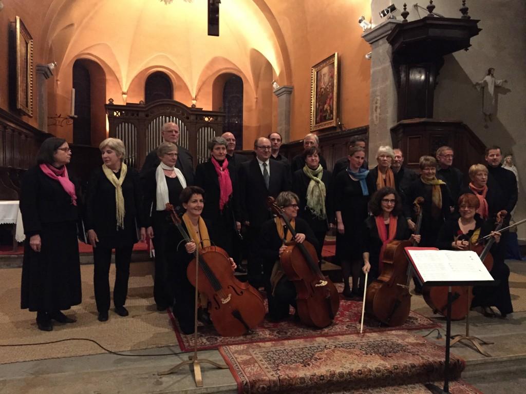 Concert à St Rambert en Buggy - mars 2015