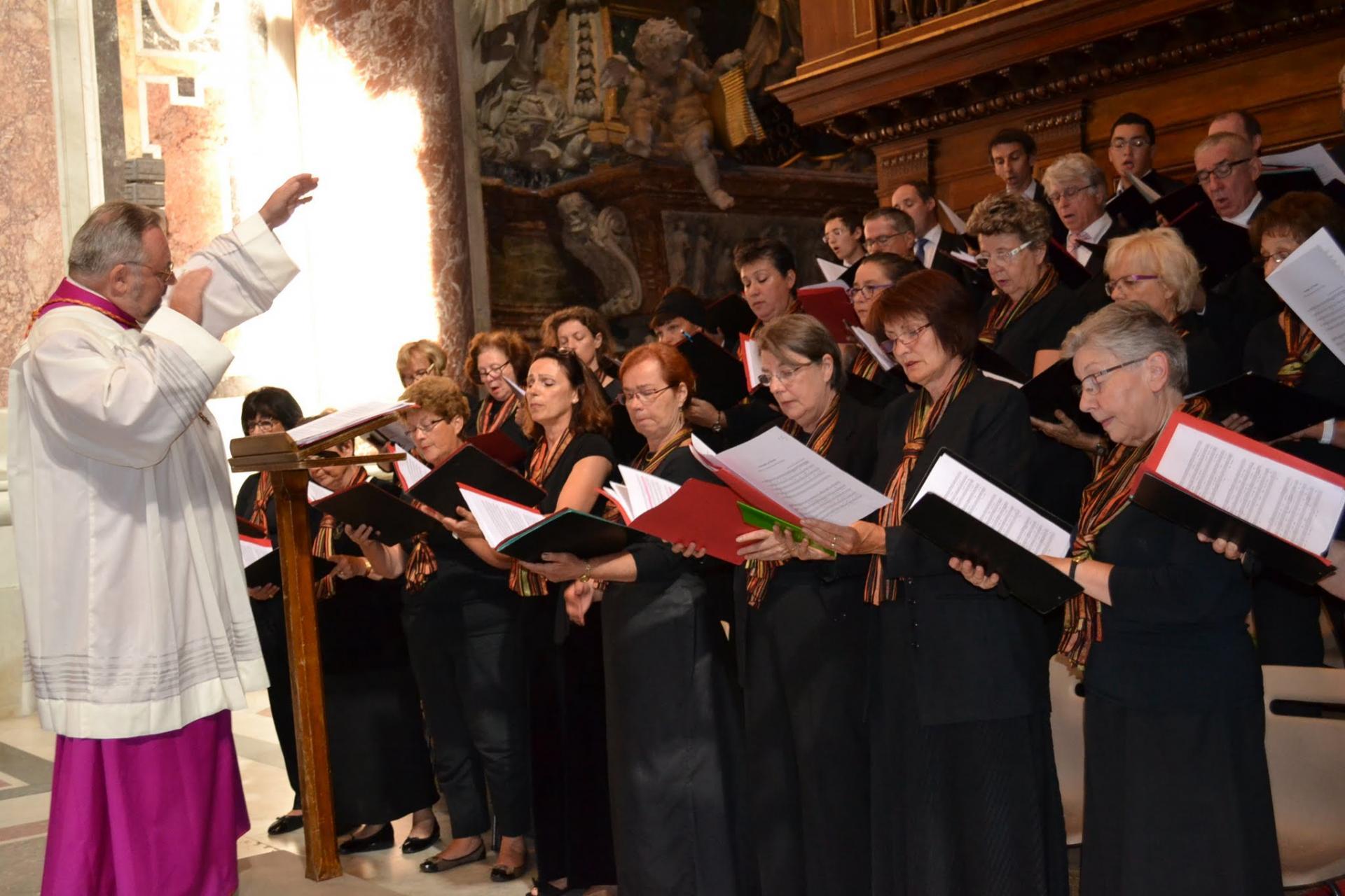 le Choeur Mixte à St Pierre de Rome 1